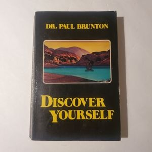 Discover Yourself by Paul Brunton vintage book